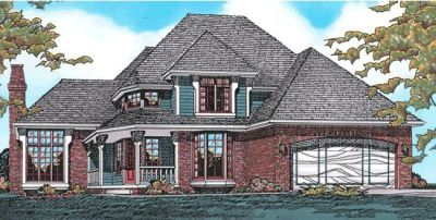 Traditional Style Floor Plans Plan: 10-184