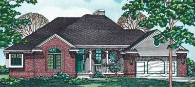 Traditional Style Floor Plans 10-185