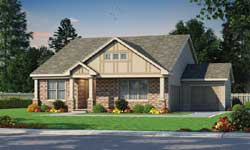Craftsman Style House Plans Plan: 10-1851