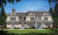 Hampton Style Floor Plans Plan: 10-1873