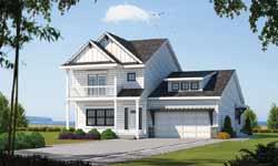 Coastal Style Home Design Plan: 10-1877