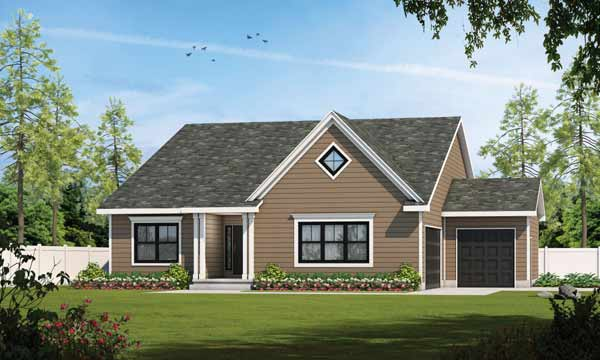 Traditional Style House Plans Plan: 10-1881
