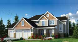 Craftsman Style House Plans Plan: 10-1885