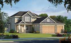 Craftsman Style Home Design Plan: 10-1887
