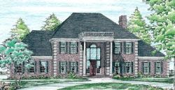 Southern-Colonial Style House Plans Plan: 10-190