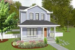 Traditional Style House Plans Plan: 10-1900