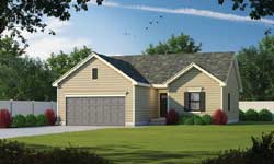 Traditional Style Home Design Plan: 10-1902