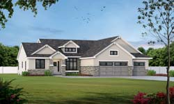 Traditional Style House Plans Plan: 10-1910