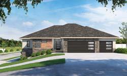 Contemporary Style Home Design Plan: 10-1912