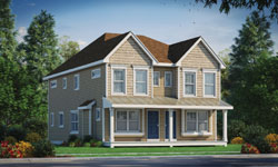 Traditional Style Home Design Plan: 10-1914