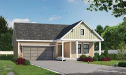 Modern-Farmhouse Style Home Design Plan: 10-1921