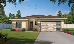 Contemporary Style House Plans Plan: 10-1926