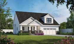 Craftsman Style Home Design Plan: 10-1928