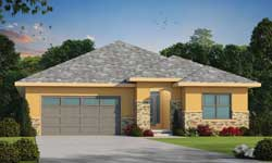 Ranch Style Home Design Plan: 10-1932