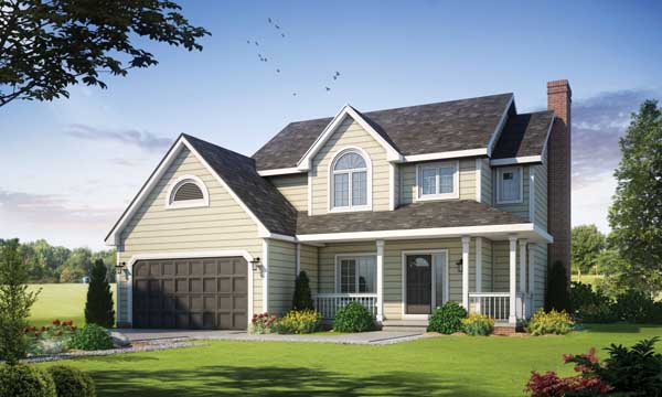 Traditional Style House Plans Plan: 10-201