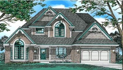 Victorian Style Floor Plans Plan: 10-222