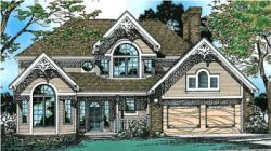 Victorian Style House Plans Plan: 10-230