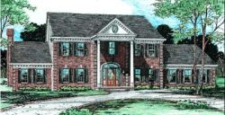 Southern Style House Plans Plan: 10-235