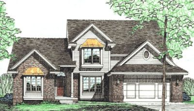 Traditional Style Floor Plans Plan: 10-237