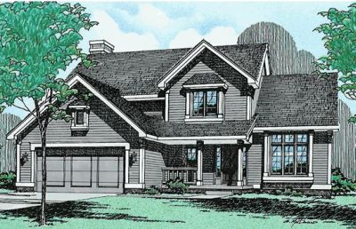Traditional Style House Plans Plan: 10-240