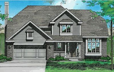 Traditional Style Floor Plans 10-242