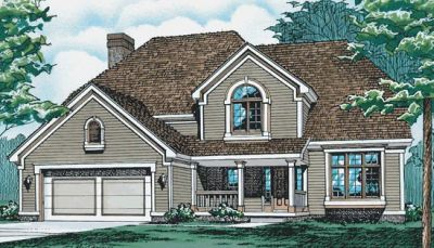 Traditional Style House Plans Plan: 10-244