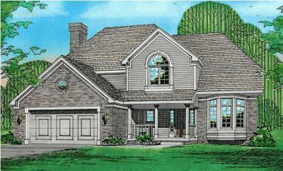 Country Style House Plans Plan: 10-245