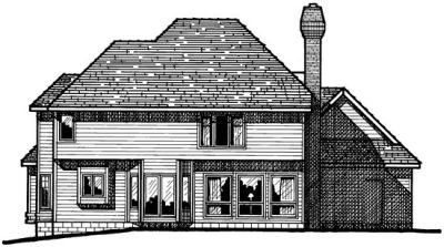 Rear Elevation Plan: 10-249