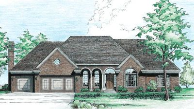 European Style Floor Plans Plan: 10-254