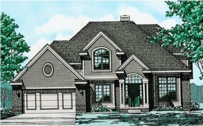 Traditional Style House Plans Plan: 10-256