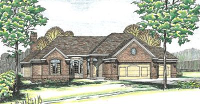 Traditional Style House Plans Plan: 10-258