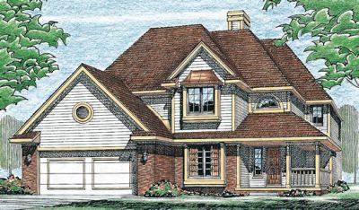Traditional Style Floor Plans Plan: 10-261