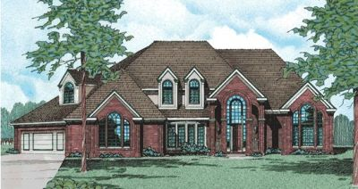 European Style Floor Plans Plan: 10-262