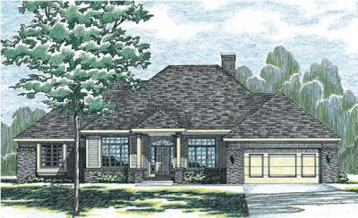Traditional Style Floor Plans 10-266