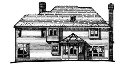 Rear Elevation Plan: 10-270