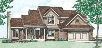 Traditional Style House Plans Plan: 10-274