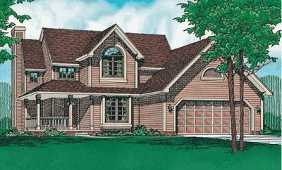 Traditional Style House Plans Plan: 10-279