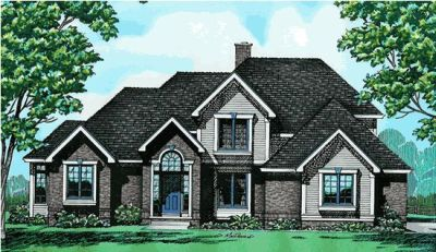 Traditional Style Floor Plans Plan: 10-283
