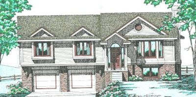 Traditional Style Home Design Plan: 10-284