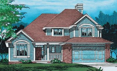 Traditional Style House Plans Plan: 10-295