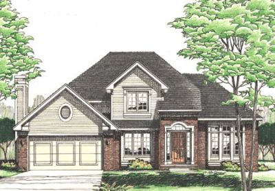 Traditional Style House Plans Plan: 10-300