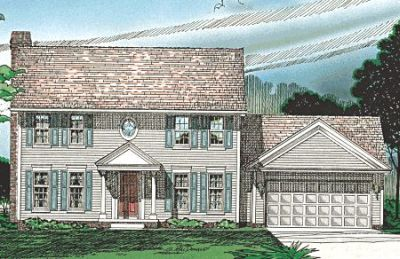 Early-american Style Floor Plans Plan: 10-301