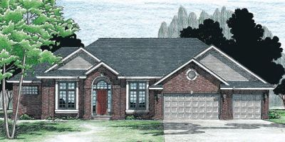 Traditional Style House Plans Plan: 10-304