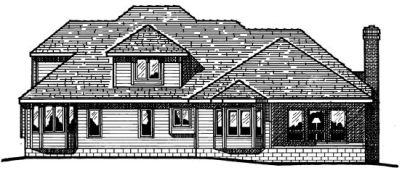 Rear Elevations Plan:10-305