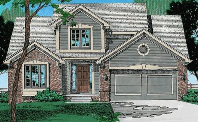 Traditional Style Home Design Plan: 10-310