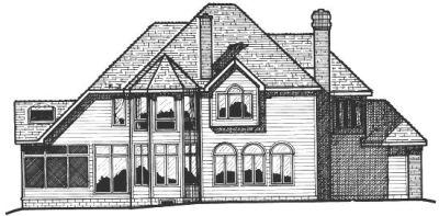 Rear Elevation Plan: 10-311