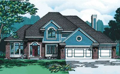 Traditional Style House Plans 10-313