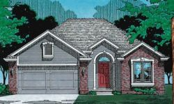 Traditional Style Home Design Plan: 10-320
