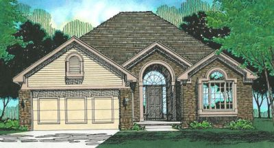 Traditional Style Floor Plans Plan: 10-321