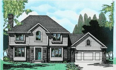 Traditional Style Floor Plans Plan: 10-323